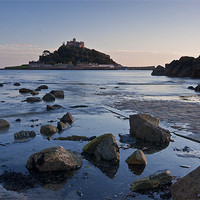 Buy canvas prints of The Mount by Christopher Barnard