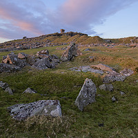 Buy canvas prints of Stowes Hill on Bodmin Moor  by CHRIS BARNARD