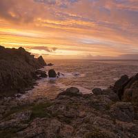 Buy canvas prints of Sunrise Hella Point by CHRIS BARNARD