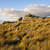 Buy canvas prints of Stowes Hill Bodmin Moor by CHRIS BARNARD