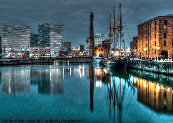 The Pump House painted finish Canvas print by Pete Lawless