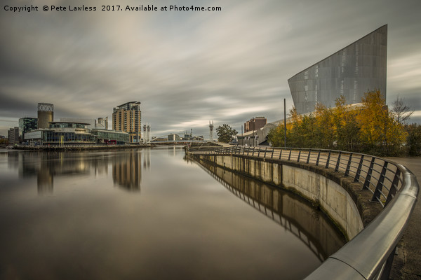 The Quays Canvas print by Pete Lawless