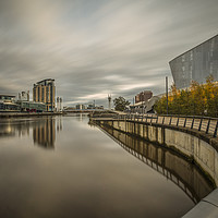 Buy canvas prints of The Quays by Pete Lawless