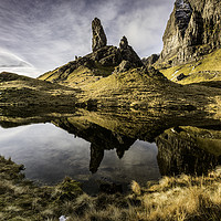 Buy canvas prints of Old Man Of Storr by Pete Lawless
