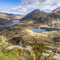 Buy canvas prints of Ogwen Valley by Pete Lawless