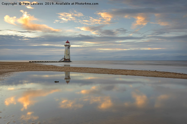 Point of Ayr Lighthouse Canvas print by Pete Lawless