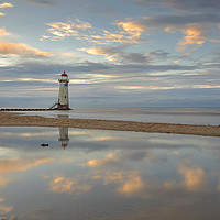 Buy canvas prints of Point of Ayr Lighthouse by Pete Lawless