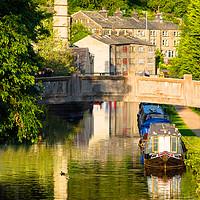 Buy canvas prints of Hebden Bridge by Chris Willman