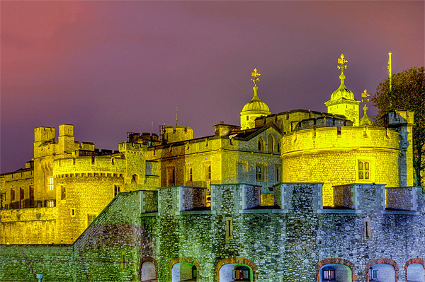 Tower of London Canvas print by Jan Venter