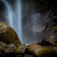 Buy canvas prints of Waterfall landscape by Jan Venter