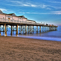 Buy canvas prints of Grand Pier Teignmouth by austin APPLEBY