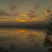 Buy canvas prints of  Loch Ness Dawn by Alex Millar