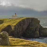 Buy canvas prints of  Stoer Head Lighthouse by Alex Millar