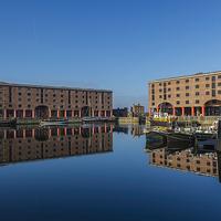 Buy canvas prints of  Albert Dock  by Alex Millar
