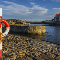 Buy canvas prints of  Portsoy Harbour by Alex Millar