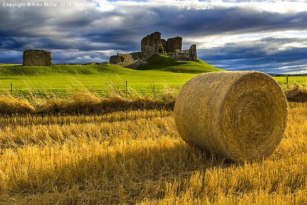 Duffus Castle Canvas print by Alex Millar