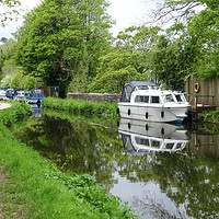 Buy canvas prints of Monmouthshire and Brecon Canal  by Jane Metters