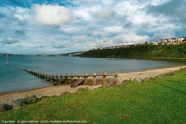 Goodwick Canvas Print by Jane Metters
