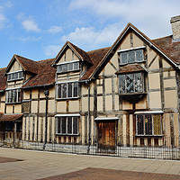 Buy canvas prints of William Shakespeare's Birthplace by Avril Harris