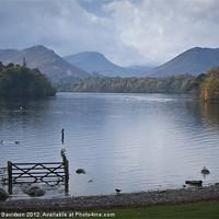 Buy canvas prints of Derwentwater View by George Davidson