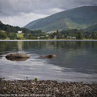 Buy canvas prints of Grasmere Shore by George Davidson