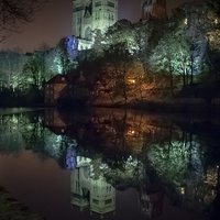Buy canvas prints of Lumieres Light by George Davidson