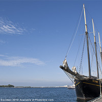 Buy canvas prints of Tall Ship by George Davidson