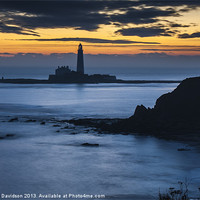Buy canvas prints of Slow Light by George Davidson