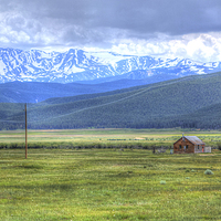 Buy canvas prints of  Living on the Colorado Plains by David Haylor